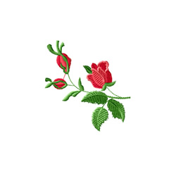 Rose Romance 3 embroidery design