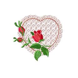 Rose Romance 4 embroidery design