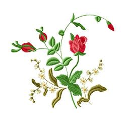 Rose Romance 8 embroidery design