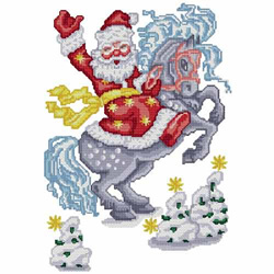Santa-04 embroidery design