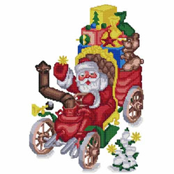 Santa-07 embroidery design