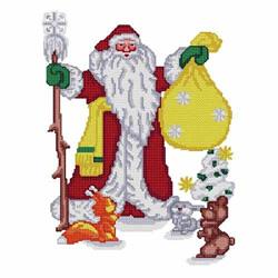 Santa-10 embroidery design