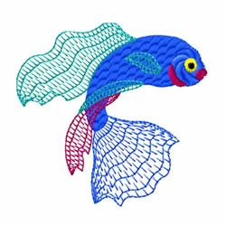 Sea Fish embroidery design