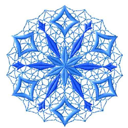 Snowflakes-01 embroidery design