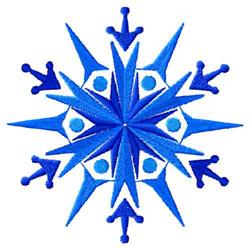 Snowflakes-04 embroidery design