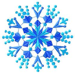 Snowflakes-08 embroidery design