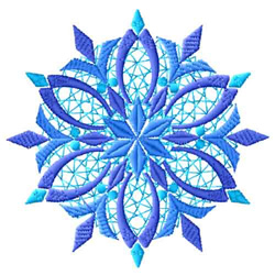 Snowflakes-12 embroidery design
