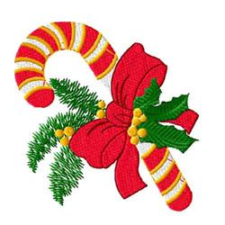 Christmas Candycane embroidery design