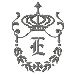 Regal Monogram E embroidery design