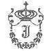 Regal Monogram J embroidery design