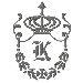 Regal Monogram K embroidery design