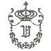 Regal Monogram V embroidery design