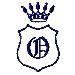 Royal Shield O embroidery design