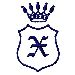 Royal Shield X embroidery design