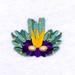 Mardi Gras Mask 2 embroidery design