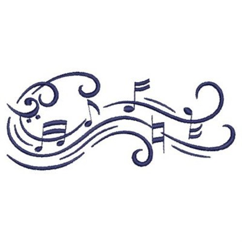 music symbol embroidery designs