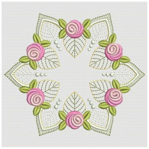 Bullion Rose Quilt Embroidery Designs Machine Embroidery Designs At