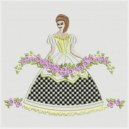 Cutwork Southern Belle Embroidery Designs Machine Embroidery