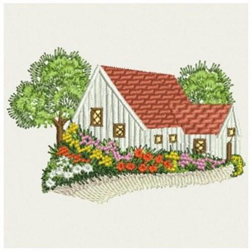 Garden cottage embroidery designs machine
