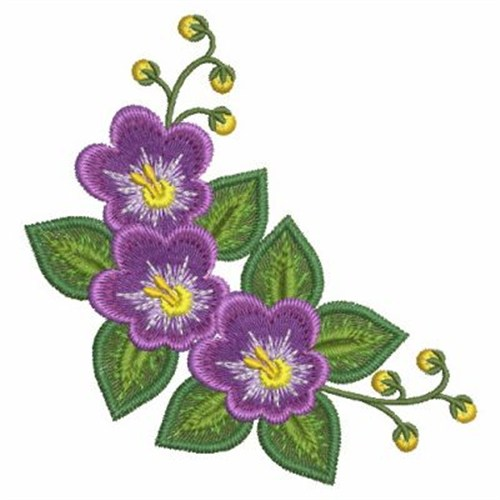African Violet Embroidery Designs Machine Embroidery Designs At
