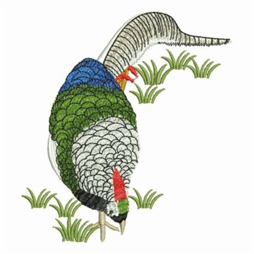 Embroidery Design Pheasant