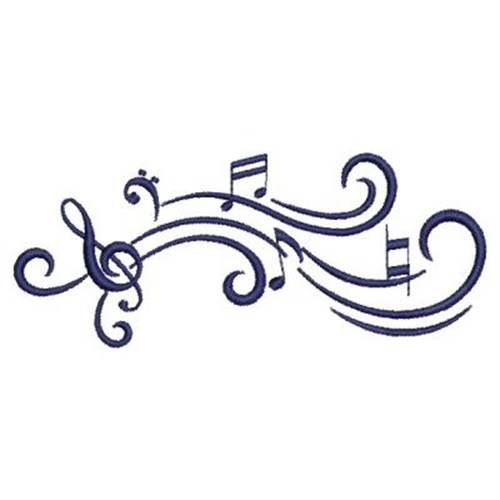 Music Notes Embroidery Designs Machine Embroidery Designs At Embroiderydesigns Com