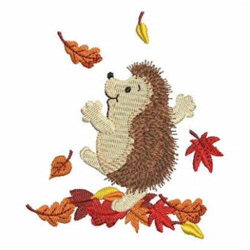 Free Hedgehog Machine Embroidery Designs