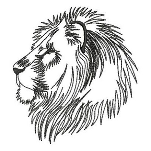 Lion Head Outline Embroidery Designs Machine Embroidery Designs At Embroiderydesigns Com 570 x 769 jpeg 69 кб. lion head outline embroidery design