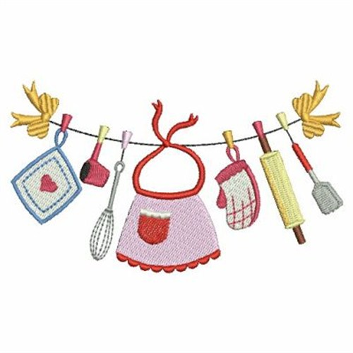 Kitchen Clothesline Embroidery Designs Machine Embroidery Designs At