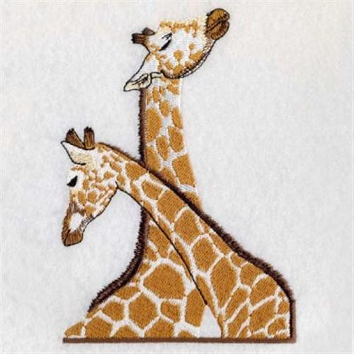 Giraffe Couple Embroidery Designs Machine Embroidery Designs At EmbroideryDesigns.com