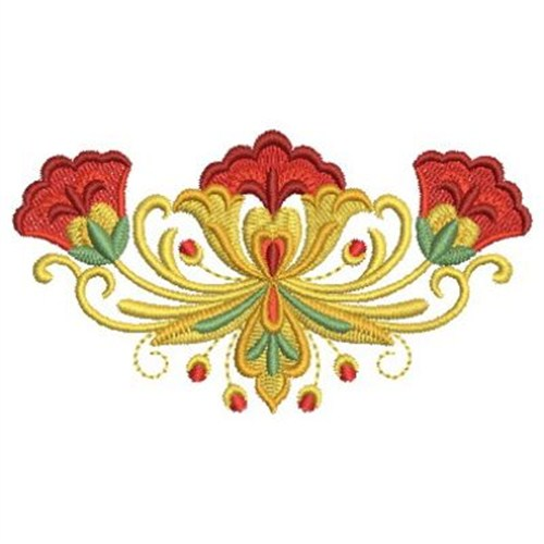 Russian Folk Art Floral Embroidery Designs Machine Embroidery