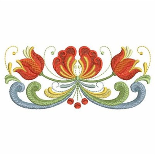 Norwegian Rosemaling Embroidery Designs Machine Embroidery Designs