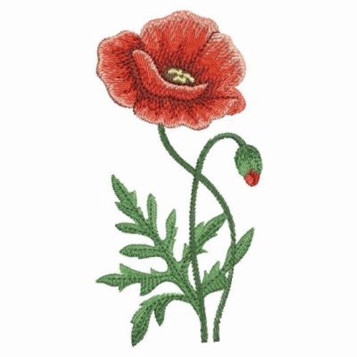 Watercolor Poppies Embroidery Designs Machine Embroidery Designs At