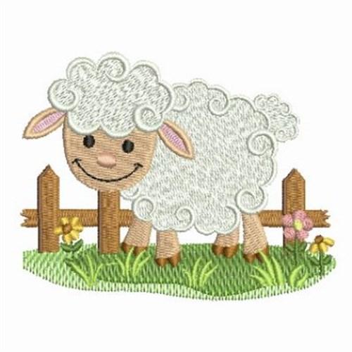 farm animal lamb embroidery designs machine embroidery