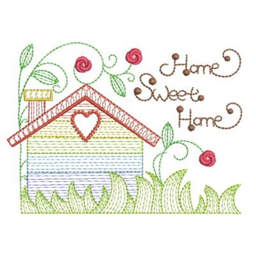 Home Sweet Home Embroidery Designs Machine Embroidery Designs At