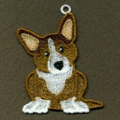 Corgi Fsl Embroidery Design