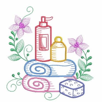 Bath Towels Embroidery Designs, Machine Embroidery Designs ...
