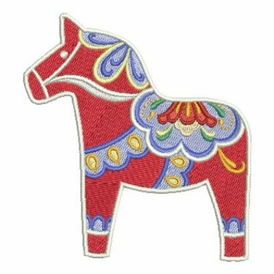 Swedish Dala Horse Embroidery Designs Machine Embroidery Designs At