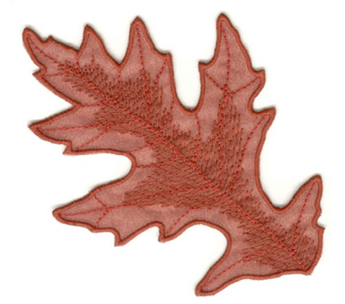 Oak leaf embroidery designs machine at