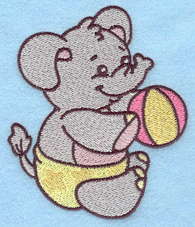 Baby Elephant Embroidery Designs Machine Embroidery