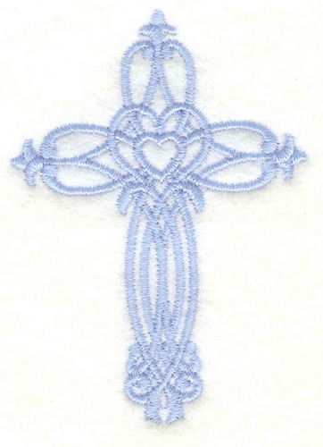 Cross small embroidery designs machine