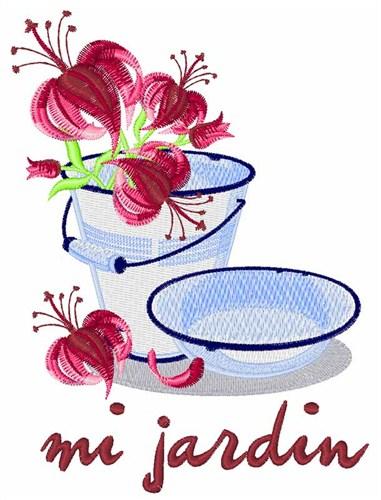 Mi Jardin My Garden Embroidery Designs Machine Embroidery