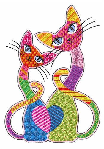 Patch Cats Embroidery Designs Machine Embroidery Designs At