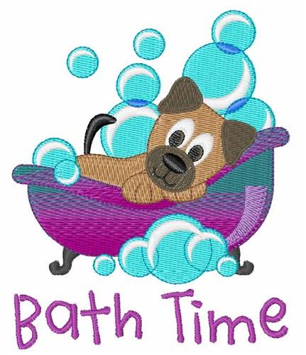 Bath time embroidery designs machine