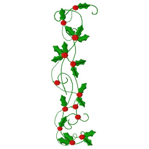 holly border embroidery designs machine embroidery designs at