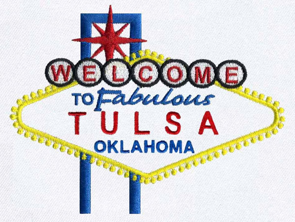 Tulsa Oklahoma Embroidery Designs Machine Embroidery Designs At