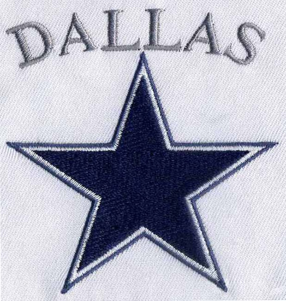 Dallas Star Embroidery Designs Machine Embroidery Designs At