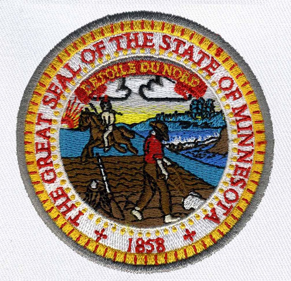 Minnesota State Seal Embroidery Designs Machine Embroidery Designs
