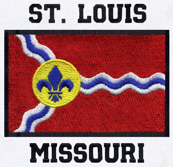 St Louis Missouri Embroidery Designs Machine Embroidery Designs At