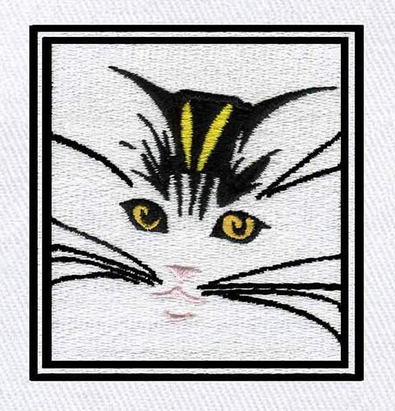 Cat Face Embroidery Designs Machine Embroidery Designs At